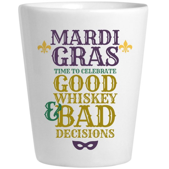 Drinking On Mardi Gras