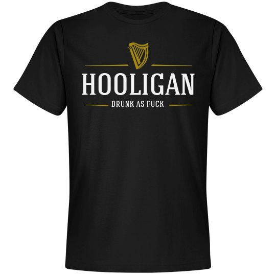Drunk Hooligan Beer Logo