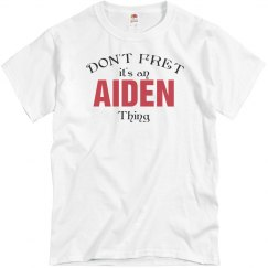 It's a Aiden thing