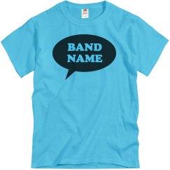 Simple Custom Word Bubble Band Logo
