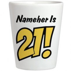 Nameher Is 21 Birthday Gift