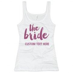 Custom Bride Bachelorette Party