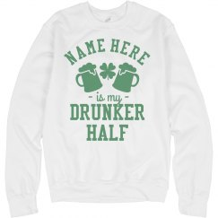 My Drunker Half Matching St. Pats