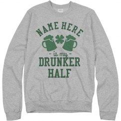 Matching Drunker Half St. Patrick's