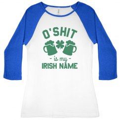 Irish Name O'Shit St. Patrick's Day