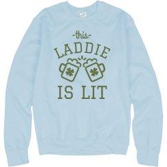 Lit St Patrick's Day Laddie
