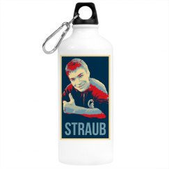 Straub Campaign water bottle