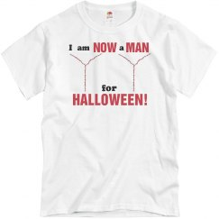 Now a Man For Halloween