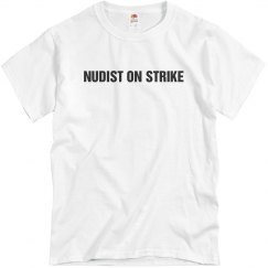 Nudist Costume Tee