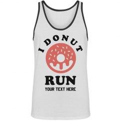 Custom Workout I Donut Run