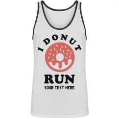 Custom Workout I Donut Run