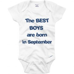 Best boys born in September