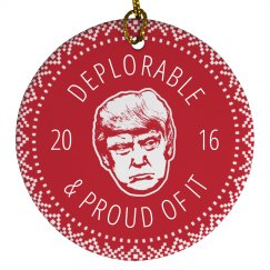 Deplorable & Proud For Trump