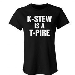 K-Stew Trampire Text Tee