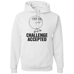 Challenge Accepted Hoodie