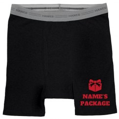 Custom Name Girlfriend Gift Boxers