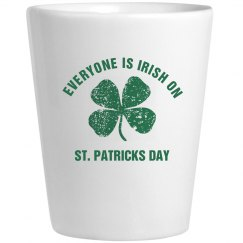 Everyone is Irish on St Patricks Day
