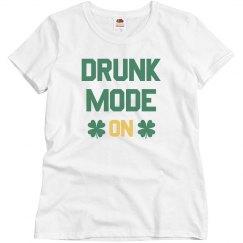 Glitter Drunk Mode On
