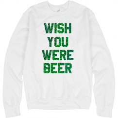 Glitter Wish You Were Beer