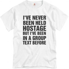 Group Text Message Tee