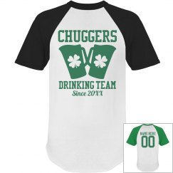 Custom Name St Pat Drinking Team