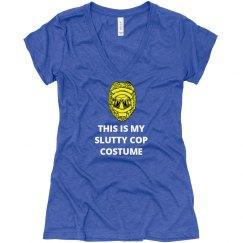 Slutty Cop Costume