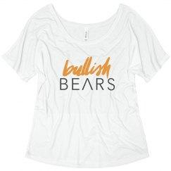 BULLISH BEARS SLOUCHY TEE