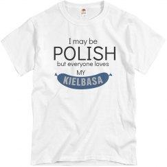 Polish, Loves My Kielbasa