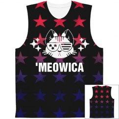 'Meowica Star American Pattern