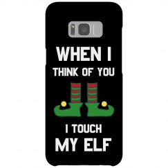 Touch My Elf Funny Phone Case