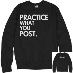 Practice What You Post
