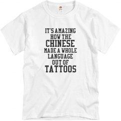 Chinese Tattoos T-Shirt