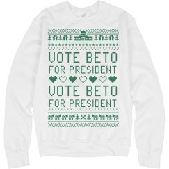 Beto 2020 Ugly Christmas Sweater