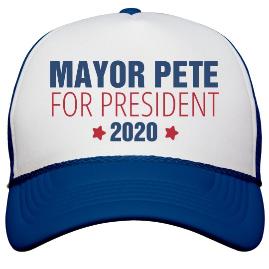 a78f464389adc Mayor Pete Cap Snapback Trucker Hat