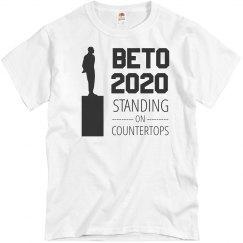 Beto 2020 Standing on Countertops