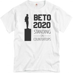 Beto 2020 Standing on Countertops