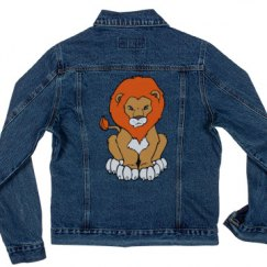 Lion Denim Jacket