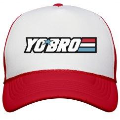 Yo Bro Trucker Cap
