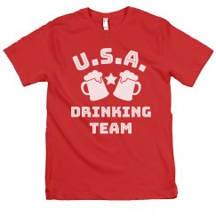 USA Official Team Drinking Tee