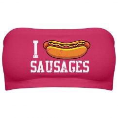 I Love Sausage Top