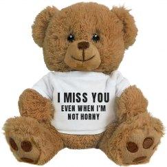 Funny Valentine's Day Gift Bear