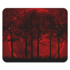 Blood Moon Mouse Pad