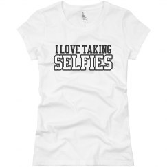 I Love Selfies T-Shirt