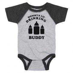 Mommy's Lil' Drinking Buddy Onesie