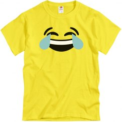Funny Laughing Emoji Costume