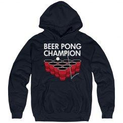 Beer Pong Champ Hoodie
