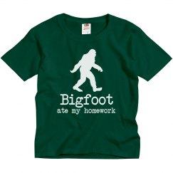 Bigfoot Ate My Homework