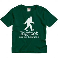 Bigfoot Ate My Homework