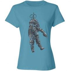 Steam Punk Diving Suit - gunmetal