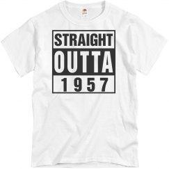 58th birthday shirt